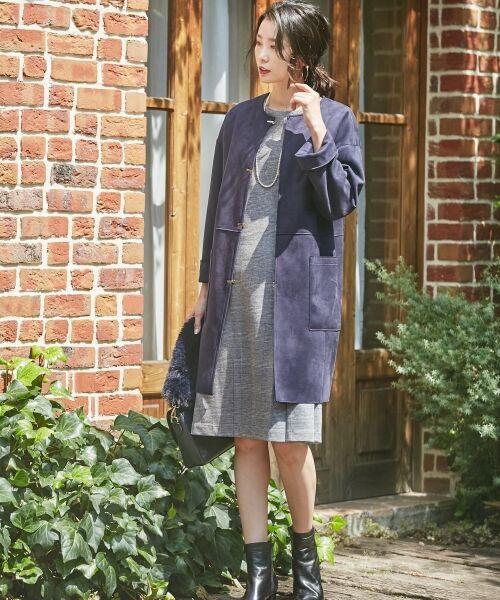J.PRESS / ジェイプレス ブーツ(ロング丈)   【履き心地にこだわった】チャンキーヒール ショートブーツ   詳細1