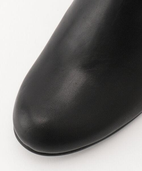 J.PRESS / ジェイプレス ブーツ(ロング丈)   【履き心地にこだわった】チャンキーヒール ショートブーツ   詳細5