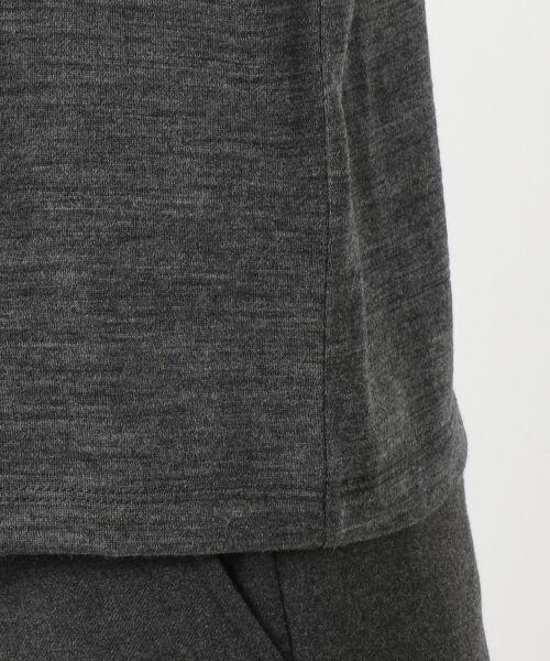 J.PRESS / ジェイプレス Tシャツ | ウォッシャブルウールジャージーボウタイ付 カットソー | 詳細9