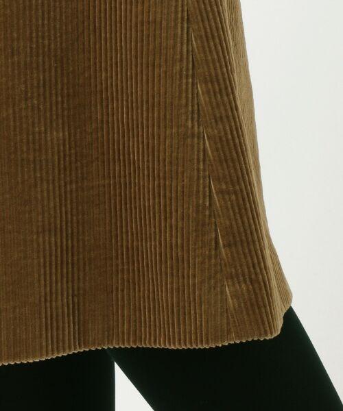 J.PRESS / ジェイプレス ミニ・ひざ丈スカート   【洗える】スーピマコットン コーデュロイ スカート   詳細15