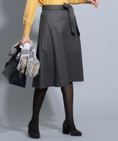 ハイカウントフラノ スカート
