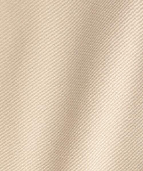 J.PRESS / ジェイプレス トレンチコート | 【撥水・花粉防止加工】ギザコーマツイル ショート ステンカラーコート | 詳細9