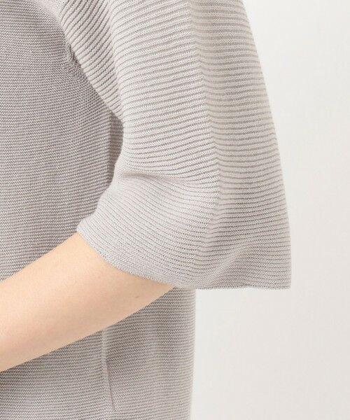 J.PRESS / ジェイプレス ニット・セーター   【洗える】リネンミックスホールガーメント ニット   詳細8