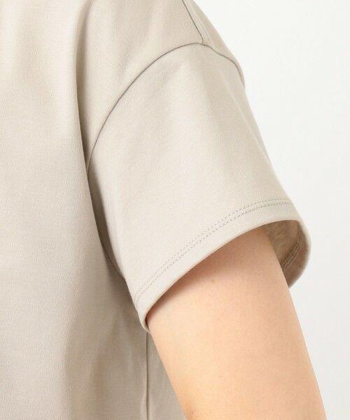 J.PRESS / ジェイプレス カットソー | 【UVケア・消臭効果・接触冷感】コンパクトコットンスムース 裾刺繍 カットソー | 詳細14