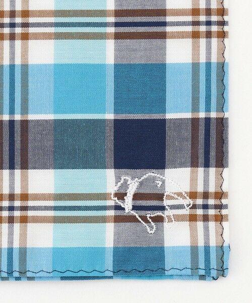 J.PRESS / ジェイプレス ハンカチ   バックブル刺繍 カジュアル ハンカチ   詳細3