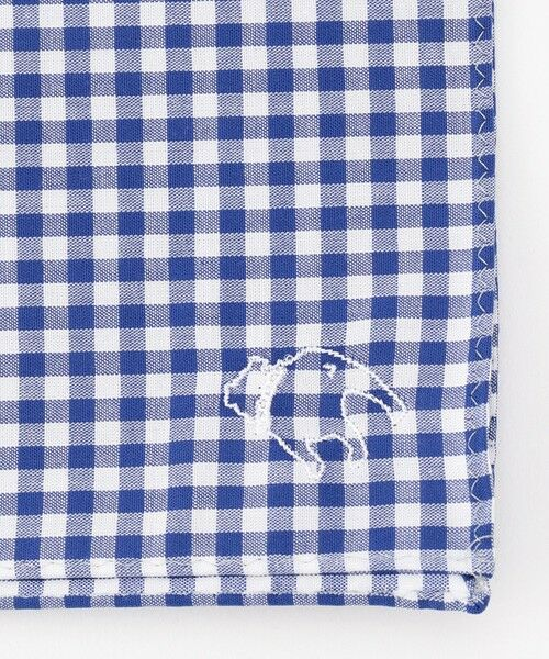 J.PRESS / ジェイプレス ハンカチ | バックブル刺繍 カジュアル ハンカチ | 詳細1