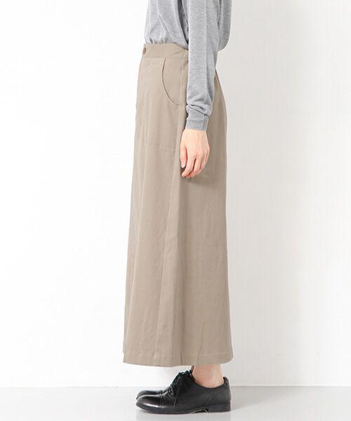 かぐれ / かぐれ スカート | 起毛サテンマキシスカート | 詳細11