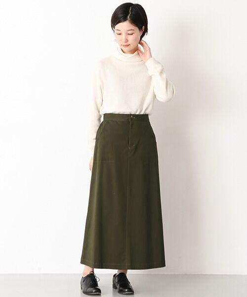 かぐれ / かぐれ スカート | 起毛サテンマキシスカート | 詳細6
