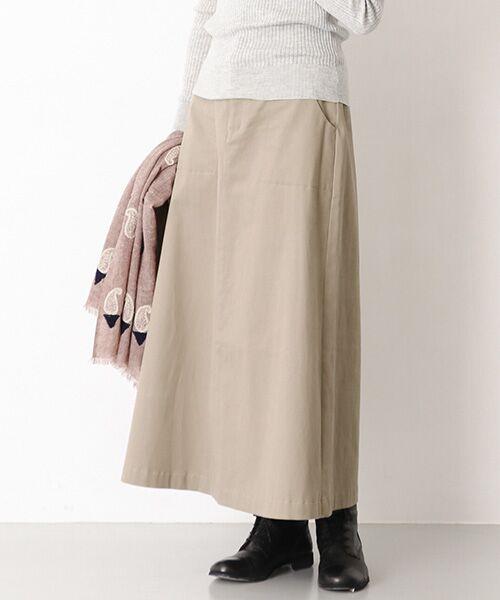 かぐれ / かぐれ スカート | 起毛サテンマキシスカート | 詳細9