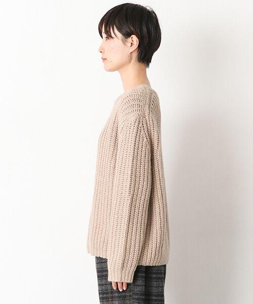 かぐれ / かぐれ ニット・セーター | アルパカオーバープルオーバー | 詳細3