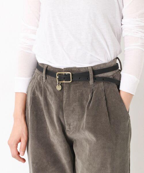 かぐれ / かぐれ ベルト・サスペンダー | MASTER&Co. leather belt(99black)