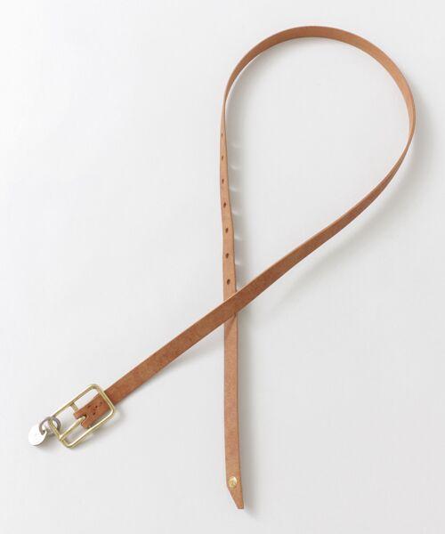 かぐれ / かぐれ ベルト・サスペンダー | MASTER&Co. leather belt | 詳細2