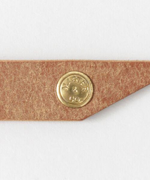 かぐれ / かぐれ ベルト・サスペンダー | MASTER&Co. leather belt | 詳細6