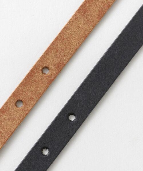 かぐれ / かぐれ ベルト・サスペンダー | MASTER&Co. leather belt | 詳細7