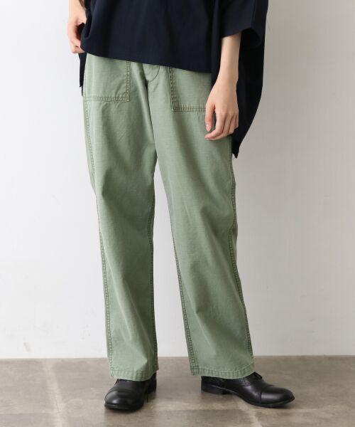 かぐれ / かぐれ その他パンツ | Daily Wardrobe Industry BAKER PANTS(OLIVE)