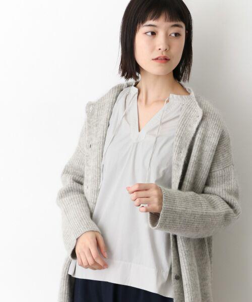 かぐれ / かぐれ シャツ・ブラウス | オーバーダイギャザーブラウス(OFF WHITE)