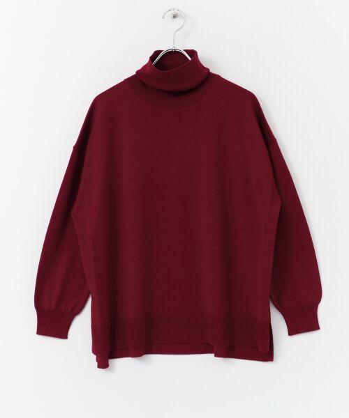 かぐれ / かぐれ ニット・セーター | ウールワイドタートルネックニット | 詳細10