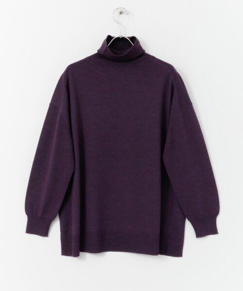 かぐれ / かぐれ ニット・セーター | ウールワイドタートルネックニット | 詳細13