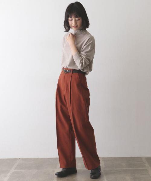 かぐれ / かぐれ ニット・セーター | ウールワイドタートルネックニット | 詳細2