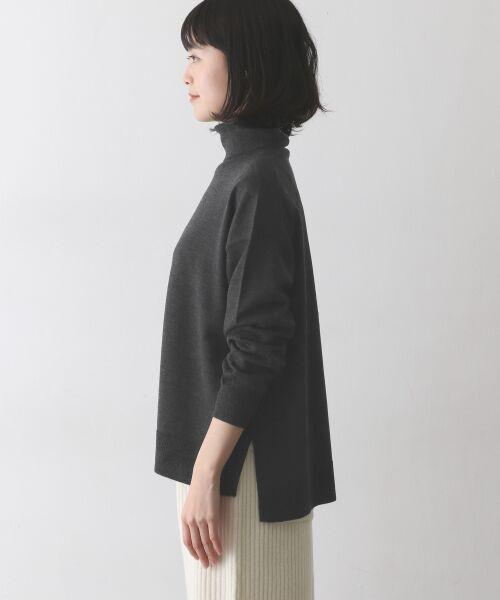 かぐれ / かぐれ ニット・セーター | ウールワイドタートルネックニット | 詳細5
