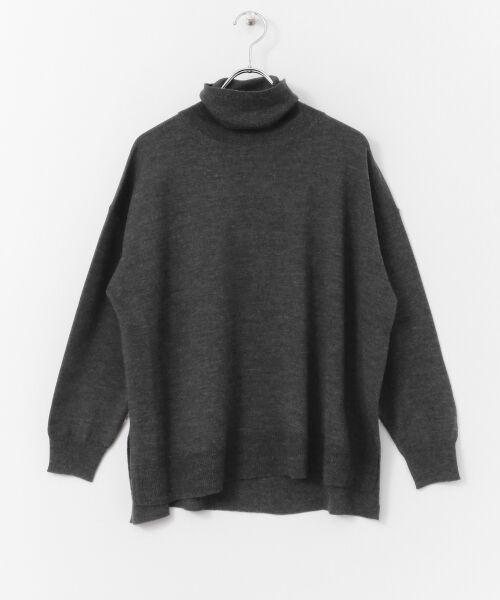 かぐれ / かぐれ ニット・セーター | ウールワイドタートルネックニット | 詳細7
