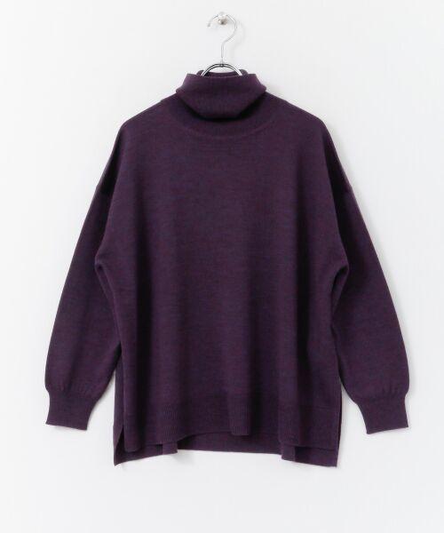 かぐれ / かぐれ ニット・セーター | ウールワイドタートルネックニット | 詳細9