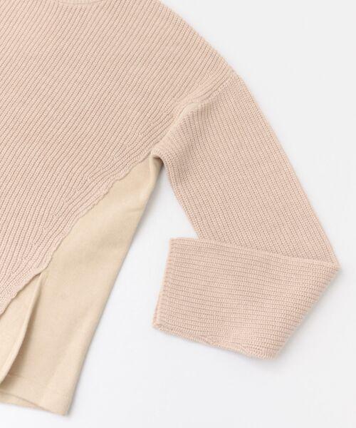 かぐれ / かぐれ ニット・セーター | スウェットコンビプルオーバーニット | 詳細13