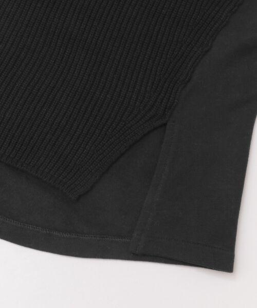 かぐれ / かぐれ ニット・セーター | スウェットコンビプルオーバーニット | 詳細16