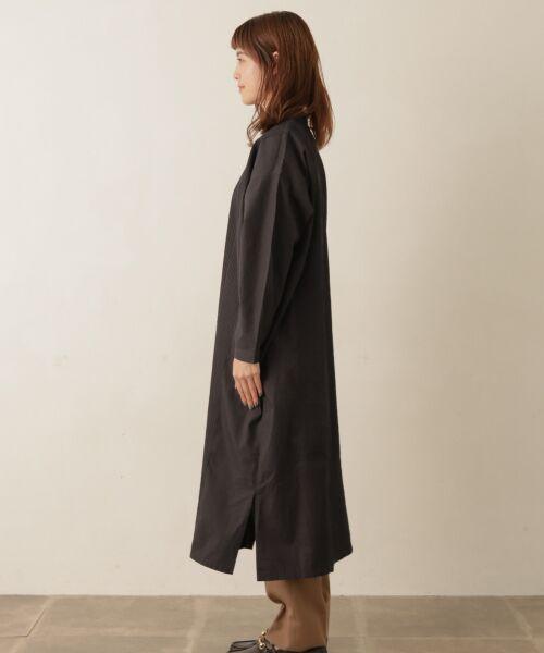 かぐれ / かぐれ ワンピース | ピンタックワイドシャツワンピース | 詳細9