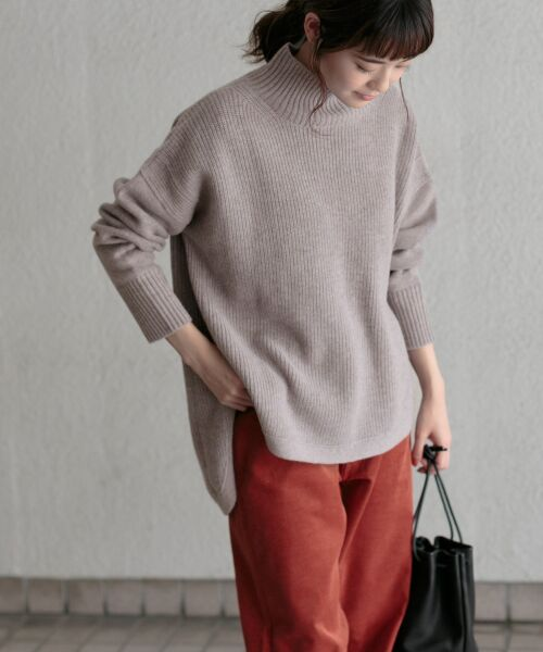 かぐれ / かぐれ ニット・セーター | タートルリブニット | 詳細10