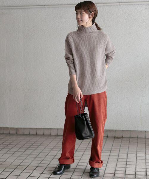 かぐれ / かぐれ ニット・セーター | タートルリブニット | 詳細11