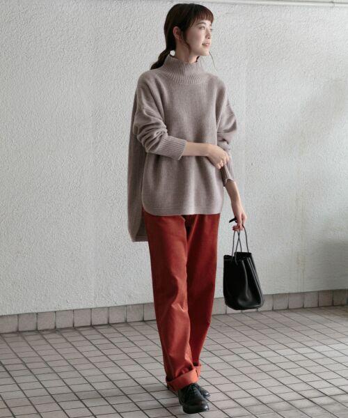 かぐれ / かぐれ ニット・セーター | タートルリブニット | 詳細12