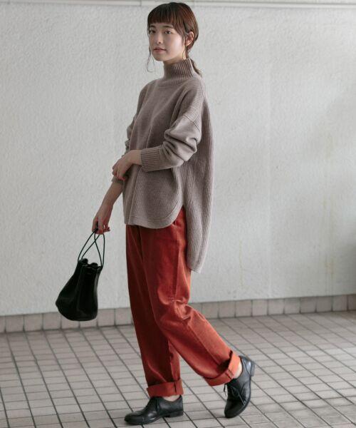 かぐれ / かぐれ ニット・セーター | タートルリブニット | 詳細13