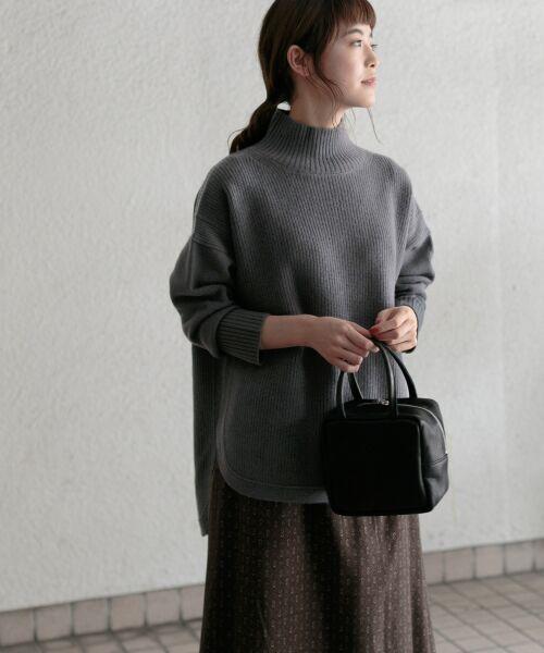 かぐれ / かぐれ ニット・セーター | タートルリブニット | 詳細2