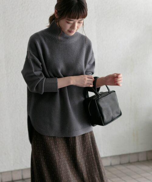 かぐれ / かぐれ ニット・セーター | タートルリブニット | 詳細3