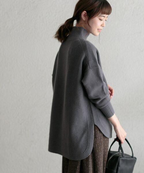 かぐれ / かぐれ ニット・セーター | タートルリブニット | 詳細4