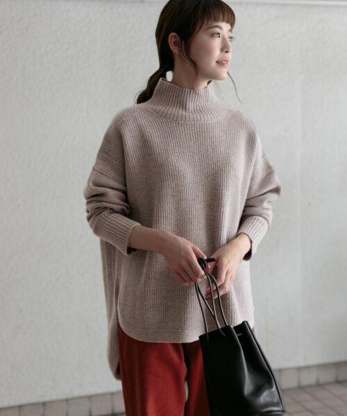 かぐれ / かぐれ ニット・セーター | タートルリブニット | 詳細9
