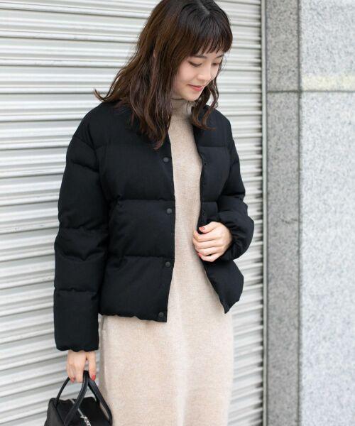 かぐれ / かぐれ ダウンジャケット・ベスト | ウールダウンショートジャケット | 詳細11
