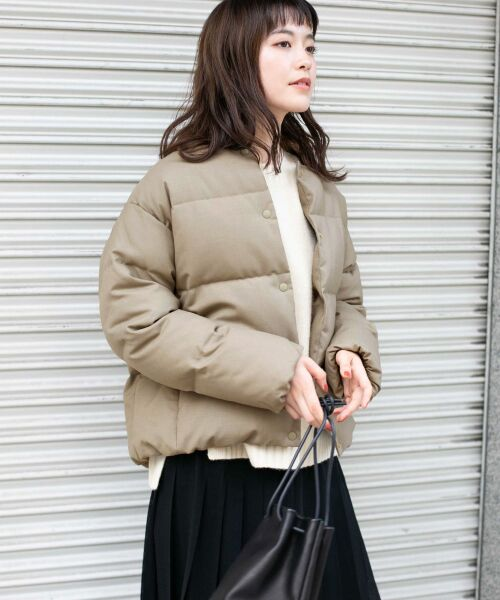かぐれ / かぐれ ダウンジャケット・ベスト | ウールダウンショートジャケット | 詳細2