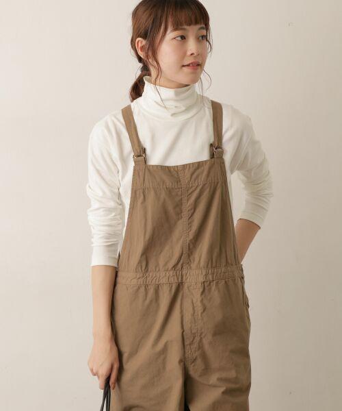 かぐれ / かぐれ Tシャツ | ロータスコットンタートルネック(OFF WHITE)