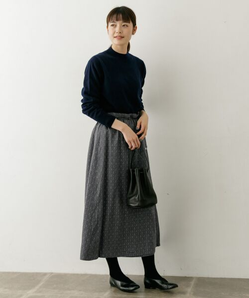 かぐれ / かぐれ スカート | sigalm 小紋柄ラップスカート | 詳細1