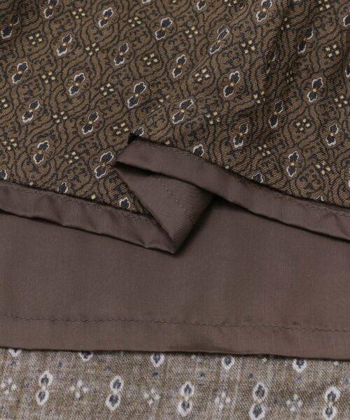 かぐれ / かぐれ スカート | sigalm 小紋柄ラップスカート | 詳細10
