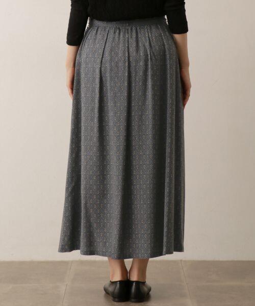 かぐれ / かぐれ スカート | sigalm 小紋柄ラップスカート | 詳細4