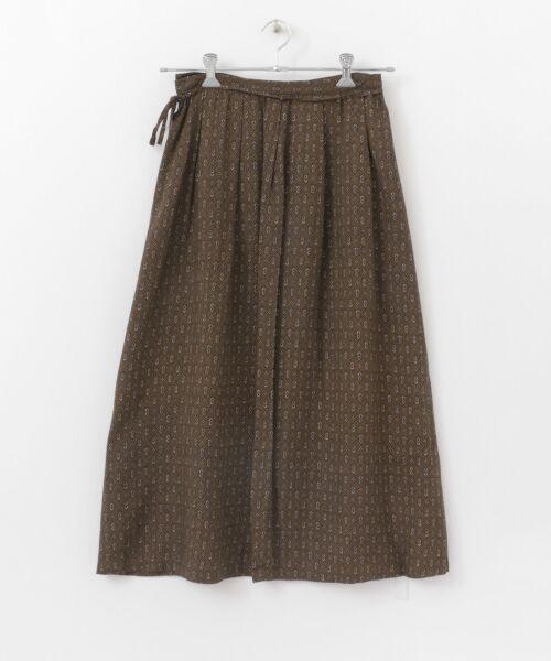 かぐれ / かぐれ スカート | sigalm 小紋柄ラップスカート | 詳細5