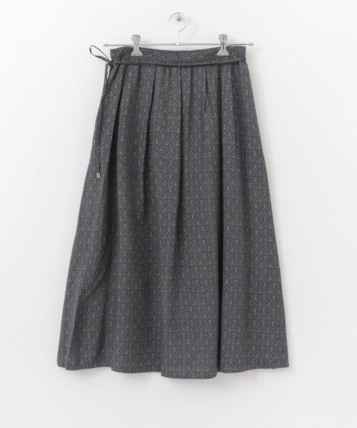 かぐれ / かぐれ スカート | sigalm 小紋柄ラップスカート | 詳細6