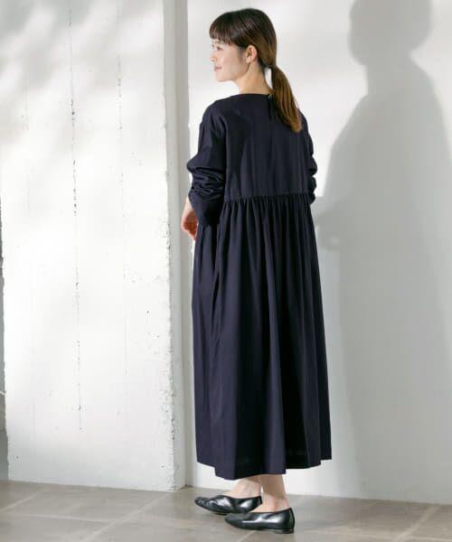 かぐれ / かぐれ ワンピース | コットンテンセルギャザーワンピース | 詳細1