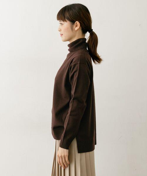 かぐれ / かぐれ ニット・セーター | ハイゲージタートルネックニット | 詳細5
