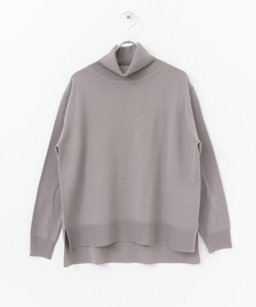 かぐれ / かぐれ ニット・セーター | ハイゲージタートルネックニット | 詳細9