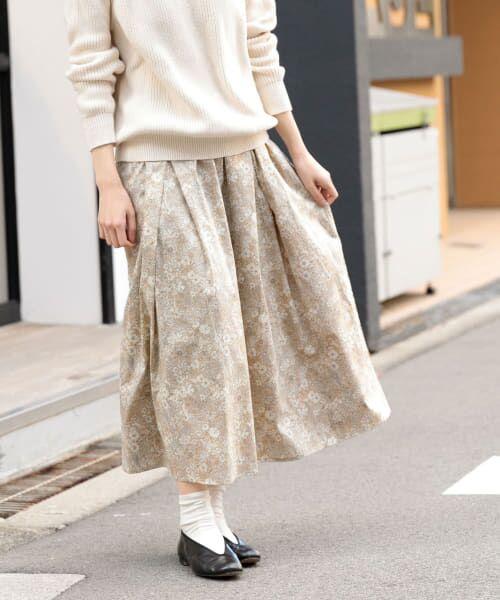 かぐれ / かぐれ スカート | リバティプリントギャザースカート(PATRICKGOR)