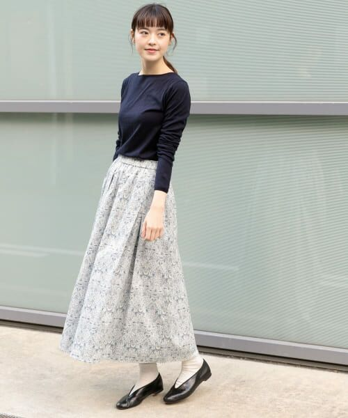 かぐれ / かぐれ スカート | リバティプリントギャザースカート | 詳細8